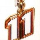 CHARM #11 NASCAR SPRINT CUP NATIONWIDE AUTO RACING BODY JEWELRY MX SX FOOTBALL