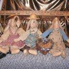 3 Country Bunnys