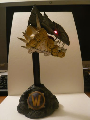 ooak World of warcraft sculpture PROTODRAKE DRAGON