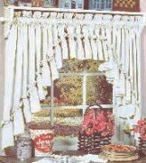 CAROLINA RUFFLED SWAG CURTAINS - 135 W x 45 L