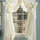 RUFFLED ELEGANCE DOOR PANEL BOWS