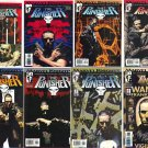 The Punisher signed comics vol. 4 #1-8