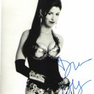 Dana Delaney B/W signed 8x10