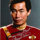 George Takei signed 8x10 Star Trek