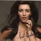Kim Kardashian signed 8x10
