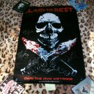 Laid to Rest Poster signed by 5 at TEXAS FRIGHTMARE WEEKEND 2009
