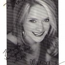Marnie Schulenburg signed 8x10 Soap Opera actress #1