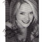 Marnie Schulenburg signed 8x10 Soap Opera actress #2