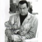 Steven Seagal signed 8x10