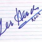 Gloria Hendry signed 3x5 (JAMES BOND)