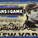 Matthew Modine signed baseball card