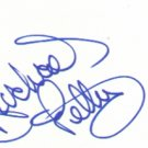Richard Petty signed 3x5 (NASCAR LEGEND and Hall Of Famer!!!)