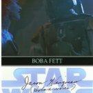 Jason Wingreen signed 4x6 #7 (Star Wars BOBA FETT VOICE)