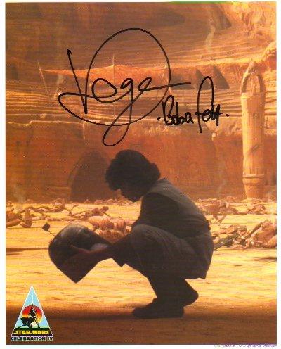 Daniel Logan signed 8x10 (Young BOBA FETT) #3 CIV