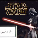 James Earl Jones signed 8x10 (VOICE of DARTH VADER) #4