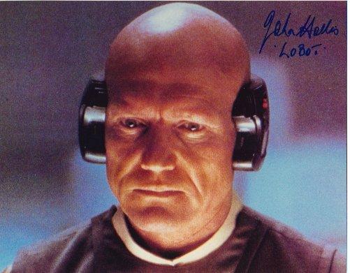 John Hollis autographed 8x10 (Lobot) RARE!!!!!!