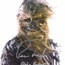 Peter Mayhew autographed 8x10 (CHEWBACCA) Comes with> COA Florida Super-Con, SAT. DEC. 8th 2008 #3