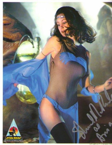 Shannon McRandle autographed 11x14(JABBA DANCER)