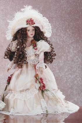 "31133 ""Rebecca"" Porcelain Doll"