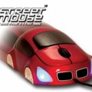 Street Mouse 3D Optical Car Shaped Mouse Red