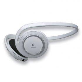 Logitech Bluetooth Stereo MP3 Head Phones Ipod Adaptor