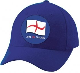 Flash The Flag Flashing England Cap in Blue