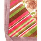 Brown Fashion Scarf 100% Polyester 24 Inch X 68 Inch / 425636-055BRO