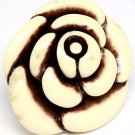 Natural Ring Adjustable Flower Formica 2 Inch Tall 321828-74945RDNAT