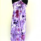 Purple Pareo Magic Double Layer 100% Rayon 34 Inch X 50 Inch Please Check How To Wear / 2796-0004PUR