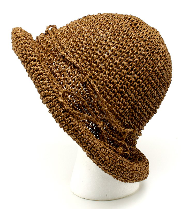 Brown Hat And Cap Floppy Packable One Size / 425833-103BRO