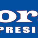 BORAT FOR PRESIDENT BUMPER STICKER FOR MAKE BENEFIT USA