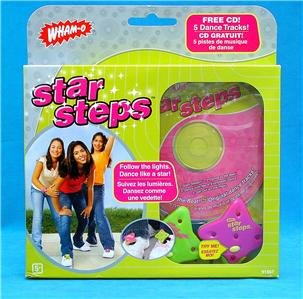 WHAM-O STAR STEPS Learn To Dance Like A Star With CD!