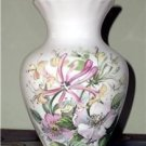 ELEGANT! SOUTHFIELDS Signed FINE BONE CHINA Vase FLORAL