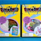 2 - FUN 4 ONE Craft Kits POM POM PET & GLITTER PICTURE