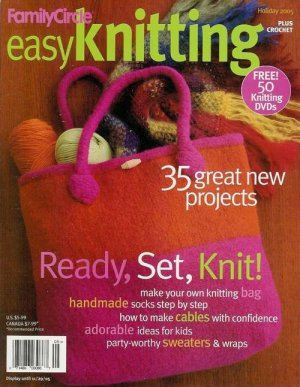 Easy Knitting Plus Crochet Sweaters Wraps Socks Felting Patterns