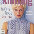 VOGUE KNITTING Spring Summer 2002 Cables Ribs Dresses Twin Sets