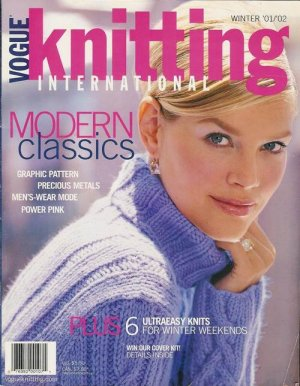 VOGUE KNITTING Winter 2001/02 Sweaters Jackets Wraps