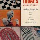 Vintage 50s Today's Crochet Book-Modern Crochet Designs