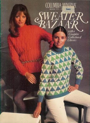 Vintage 60s CARDIGANS PULLOVERS VESTS Knitting Patterns