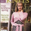 INTERWEAVE KNITS Spring 2005 Lace Shawl Capelet Sweater
