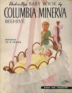 VINTAGE 60s BABY CHILDREN JACKET KNIT CROCHET PATTERNS