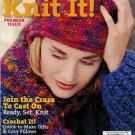 KNIT IT PREMIER ISSUE SHAWL GIFTS GRANNY SQUARE SKIRT KNIT CROCHET PATTERNS