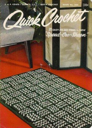 Vintage 50s Hats Bags Pot Holders Crochet Patterns