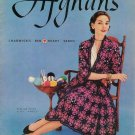 Vintage 50s AFGHANS BABY AMERICANA Knit Crochet Patterns