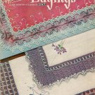 Crochet Patterns Handkerchief Edging Holiday Motif Bridal Birthday Vintage 1951