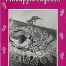 Vintage 1940s PINEAPPLE RUFFLE DOILIES Crochet Patterns