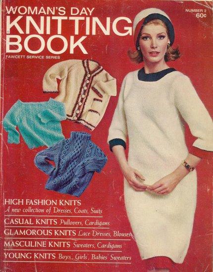 Vintage 1965 WOMAN'S DAY KNITTING BOOK No. 2 Knitting Patterns