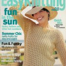 Family Circle Easy Knitting Crochet Spring 2003 Beach Halter Dress Skirt Birthday Cake