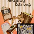 Vintage 50s TV Radio Scarfs Motifs Crochet Patterns