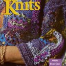 INTERWEAVE KNITS Spring 1998 Handpainted Yarns Socks Domino Shells Top Jacket